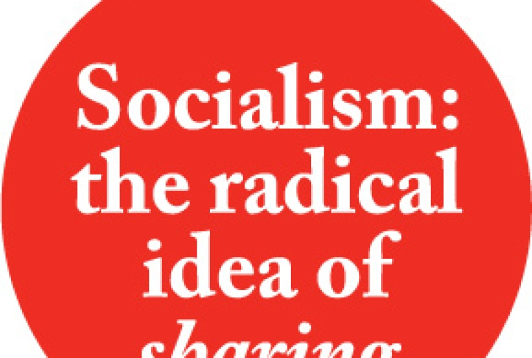 What is socialism? Shared stewardship of human needs, natural resources and societal institutions!