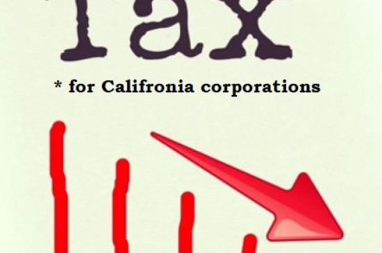 California-based corporations pay less in taxes today than in the 1980s